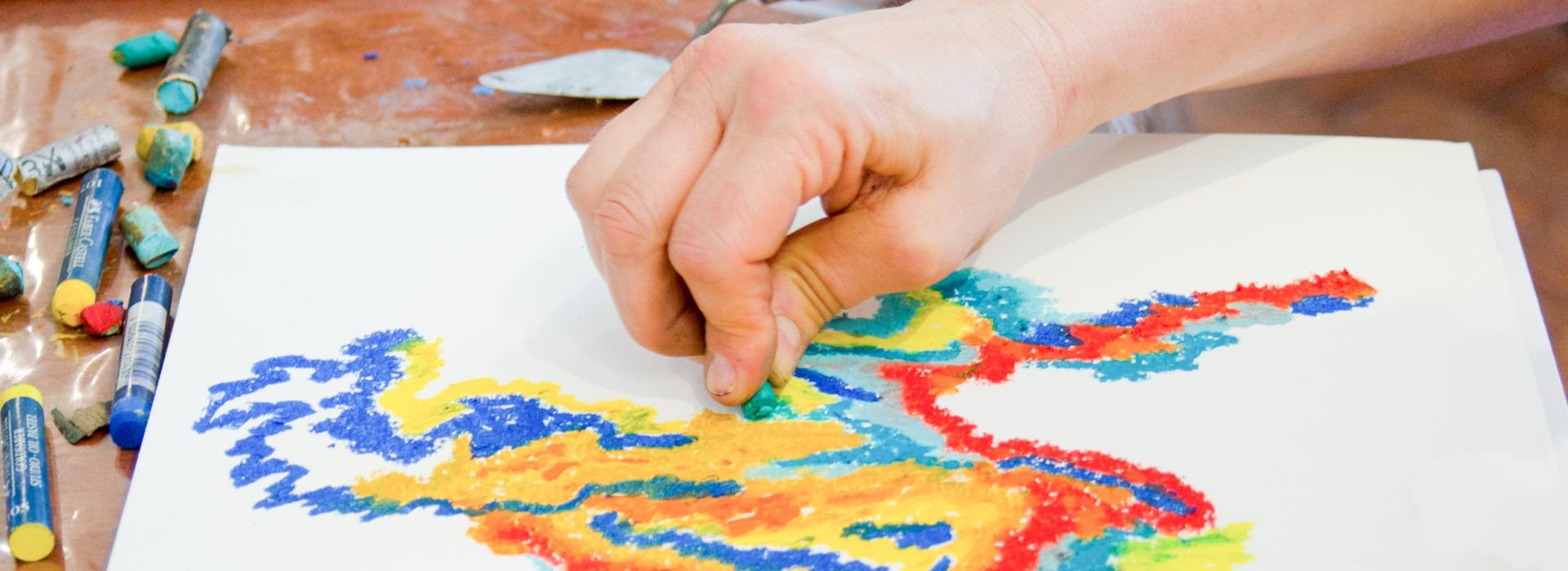 Slide Seminario Meditar en color