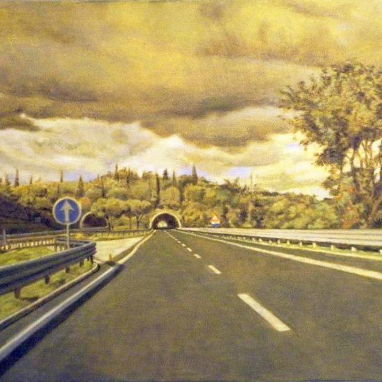 De la serie Assisi - Autostrada