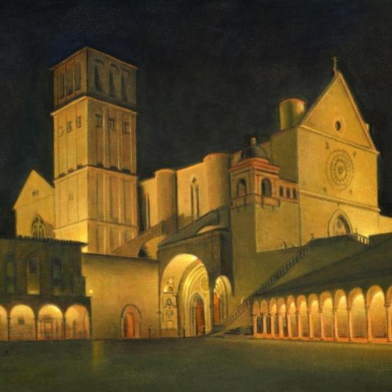 De la serie Assisi - Bagliore