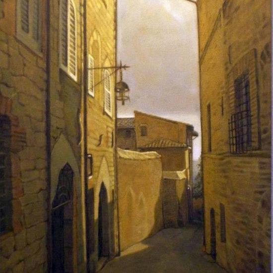De la serie Assisi - Strada III